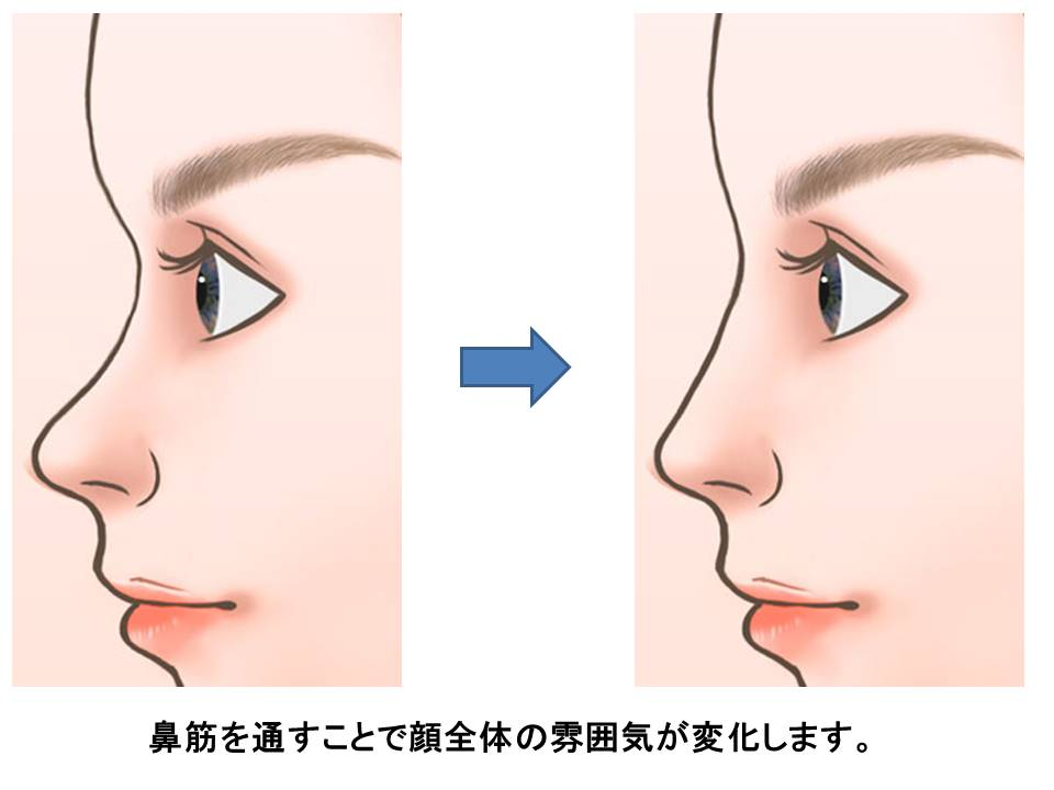 する 鼻 を マッサージ 高く